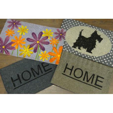 tapis coco, tapis cuisine, tapis d'entrée