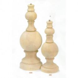 (BOIS BRUT) PIEDS DE LAMPE AGRIB 30 et 40 cm