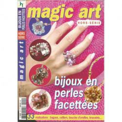 PERLES LIVRE MAGIC ART BIJOUX EN PERLES FACETTEES
