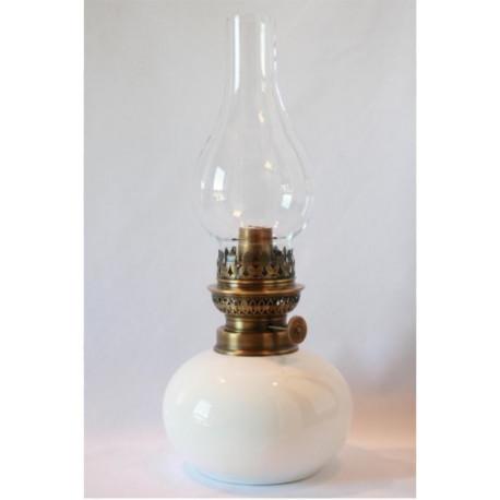 Lampe à Pétrole en Faïence émaillée
