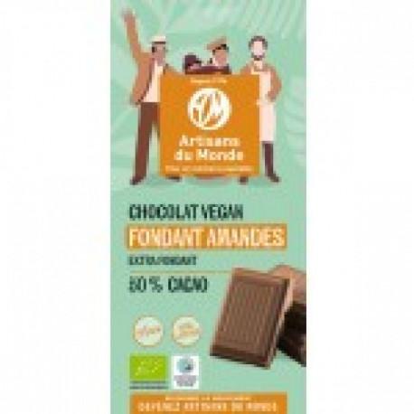 Chocolat bio VEGAN Fondant Amandes