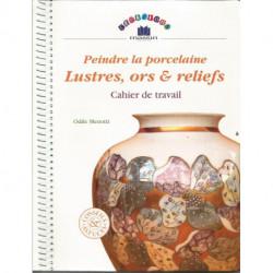 (PORCELAINE) LIVRE PORCELAINE MENOTTI LUSTRES ORS ET RELIEFS
