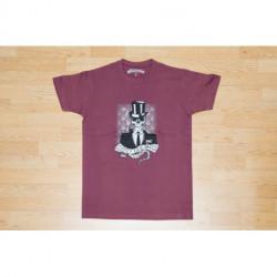 "T-shirt Homme - ""Chacom - Tasty Flavor ""- Vino"