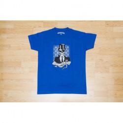 "T-shirt Homme - ""Chacom - Tasty Flavor ""- Bleu"