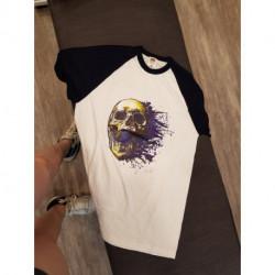 T-shirt homme tête de mort