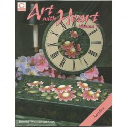(BOIS) LIVRES DE PEINTURE SUR BOIS ART WITH HEART 5 de Dorothy WHISENHUNT