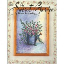 (BOIS) LIVRES DE PEINTURE SUR BOIS THE SECRFET GARDEN de Diane TRIERWEILER