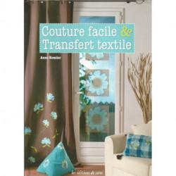 LIVRE COUTURE FACILE ET TRANSFERT TEXTILE de Anne ROUZIER Editions de Saxe