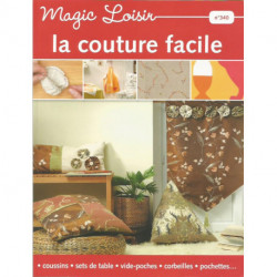 (DIVERS) LIVRE COUTURE FACILE MAGIC LOISIRS N° 340 Editions de Saxe