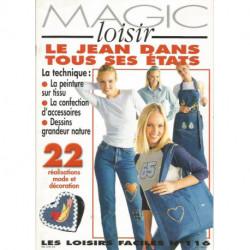 LIVRE COUTURE FACILE MAGIC LOISIRS N° 116 LE JEAN DANS TOUS SES ETATS Editions de Saxe