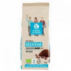Café bio décaféiné moulu