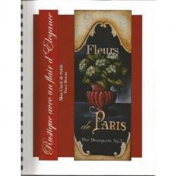 (BOIS) LIVRE PEINTURE SUR BOIS FLEURS DE PARIS de Tracy MOREAU