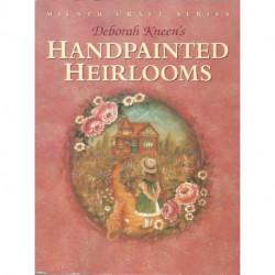 (BOIS) LIVRE PEINTURE SUR BOIS HANDPAINTED HEIRLOOMS de Deborah KNEEN