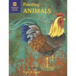 (BOIS) LIVRE PEINTURE SUR BOIS PAINTING ANIMALS de Andy B. JONES