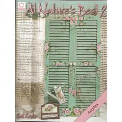 (BOIS) LIVRE PEINTURE SUR BOIS AT NATURE'S BEST 2 de Gail EADS
