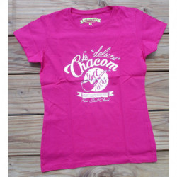 "T-shirt Femme ""Chacom Deluxe"" Rose"