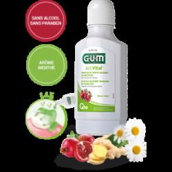 GUM ACTIVITAL BAIN DE BOUCHE FLUORE
