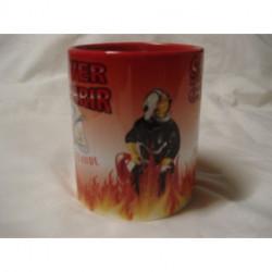 """Mug pompier """"saint-claude"""""""
