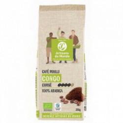 Café bio de RD du Congo moulu