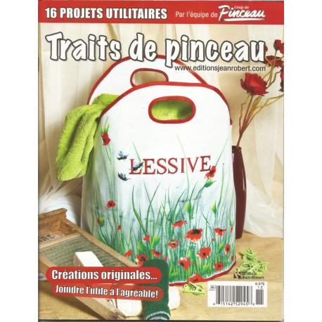 (BOIS) MAGAZINE TRAITS DE PINCEAU