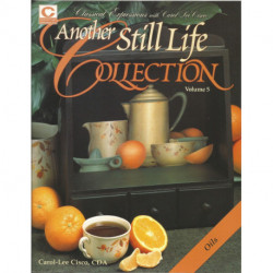 LIVRE PEINTURE SUR BOIS ANOTHER STILL LIFE COLLECTION de Carol-Lee Cisco