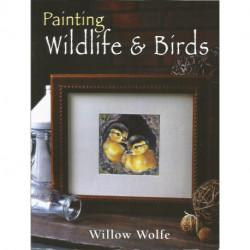 (BOIS) LIVRES DE PEINTURE SUR BOIS de Willow WOLFE