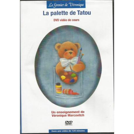 (BOIS) DVD PEINTURE SUR BOIS de Véronique MARCOVITCH