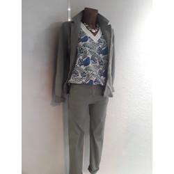 Pantalon coton ALEXANDRA ST CLAUDE