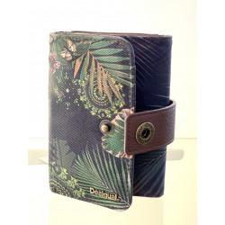 Portefeuille - Desigual - Noir/Vert