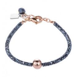 Bracelet Hématite & Acier - Coeur De Lion - Pesenti