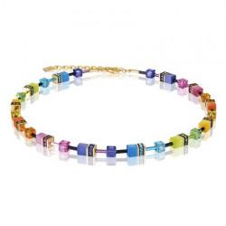 Collier Geo-Cubes Multicolore - Coeur De Lion - Pesenti