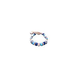 Bracelet Geo-Cubes - Bleu - Coeur De Lion - Pesenti