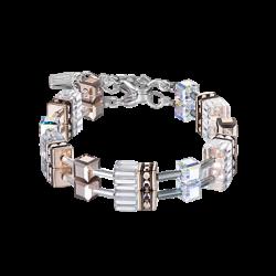 Bracelet Geo-Cubes - Blanc - Coeur De Lion - Pesenti