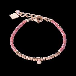 Bracelet - Rose - Coeur De Lion - Pesenti