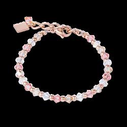 Bracelet - Rose Et Blanc - Coeur De Lion - Pesenti