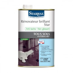 starwax rénovateur brillant star
