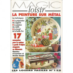 MAGIC LOISIRS 159 LA PEINTURE SUR METAL