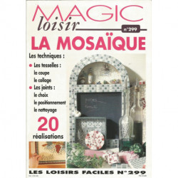 LIVRE SAXE MAGIC LOISIRS 299 LA MOSAIQUE