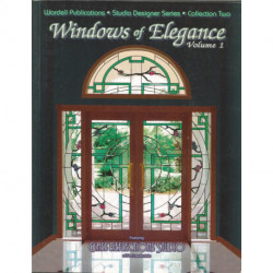 LIVRE MODELE VITRAIL WINDOWS OF ELEGANCE 1