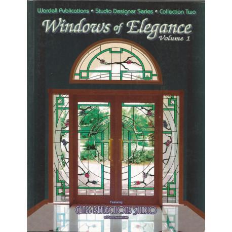 (VITRAIL) LIVRE MODELE VITRAIL WINDOWS OF ELEGANCE 1