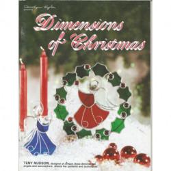 LIVRE VITRAIL DIMENSIONS OF CHRISTMAS