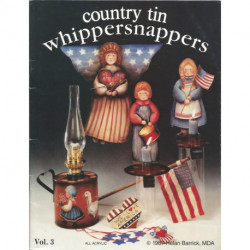 LIVRE PEINTURE SUR BOIS COUNTRY TIN WHIPPERSNAPPERS