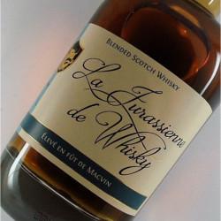 La Jurassienne des Whisky élevée en fût de Macvin du Jura