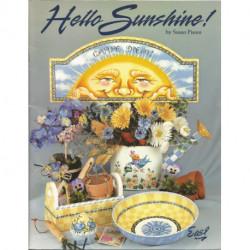(BOIS) LIVRE PEINTURE SUR BOIS HELLO SUNSHINE de Susan Pisoni