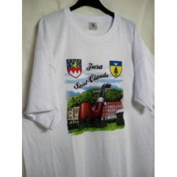 Tee shirt Saint- claude /Jura